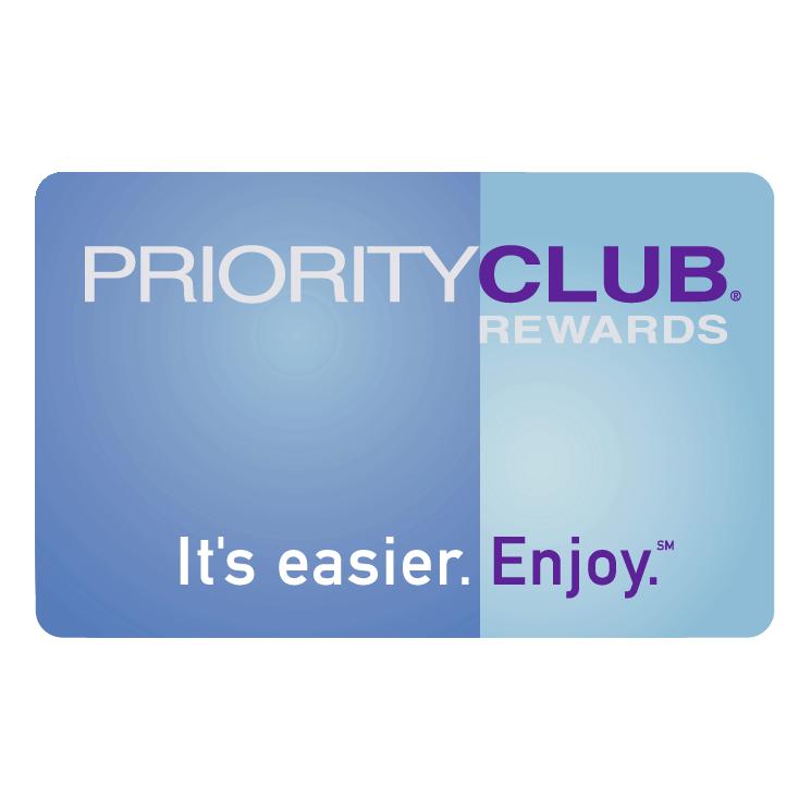 free vector Priority club rewards