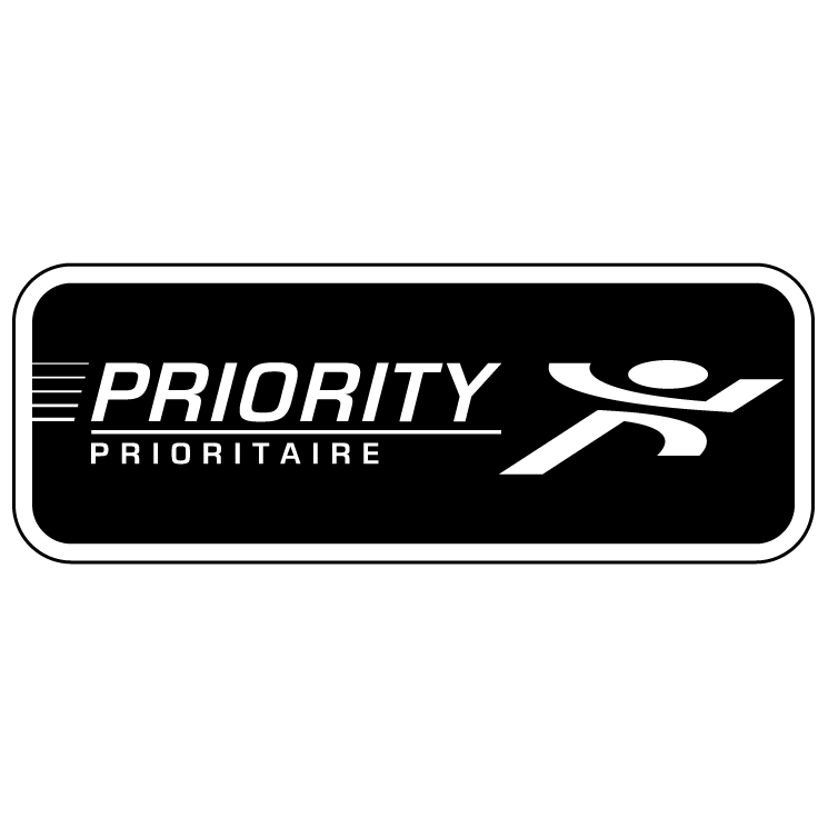free vector Priority mail