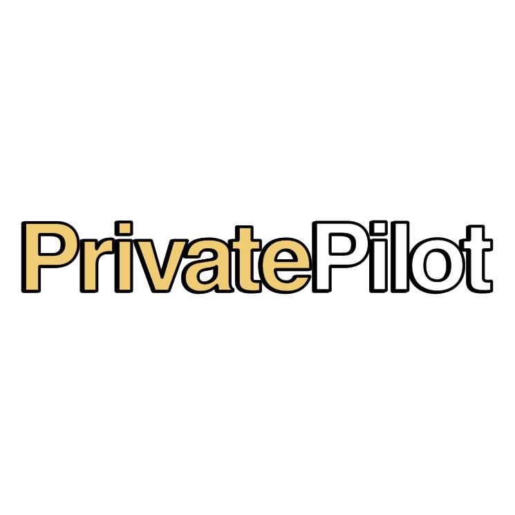 free vector Private pilot