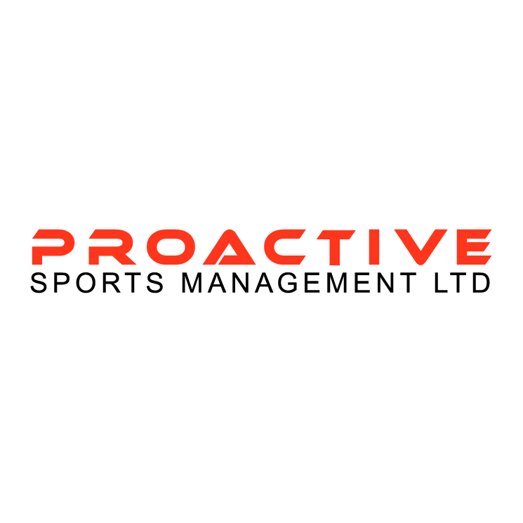 free vector Proactive sports management
