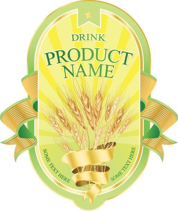 Product label design 04 vector Free Vector / 4Vector