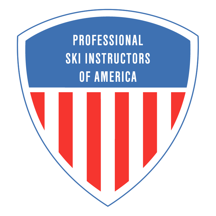 free vector Professional ski instructors of america