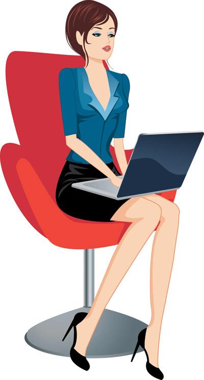 free vector Professional women vector