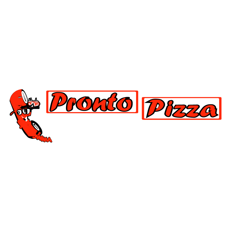 free vector Pronto pizza