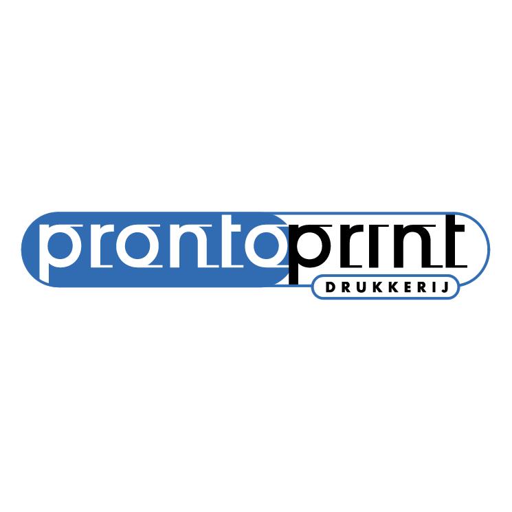free vector Prontoprint