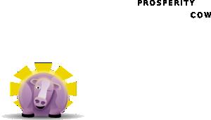 free vector Prosperity Cow clip art