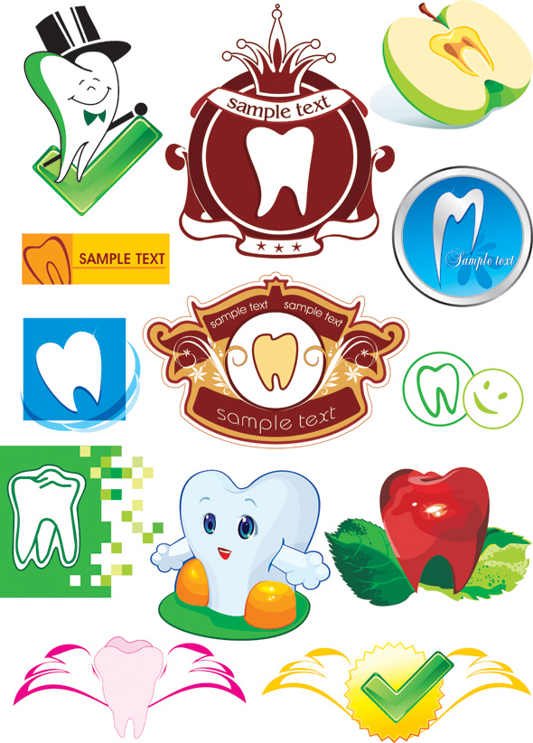 free vector Protect teeth cartoon icon vector