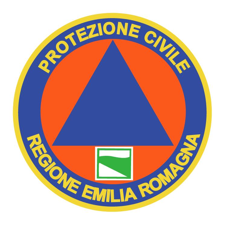 free vector Protezione civile emilia romagna