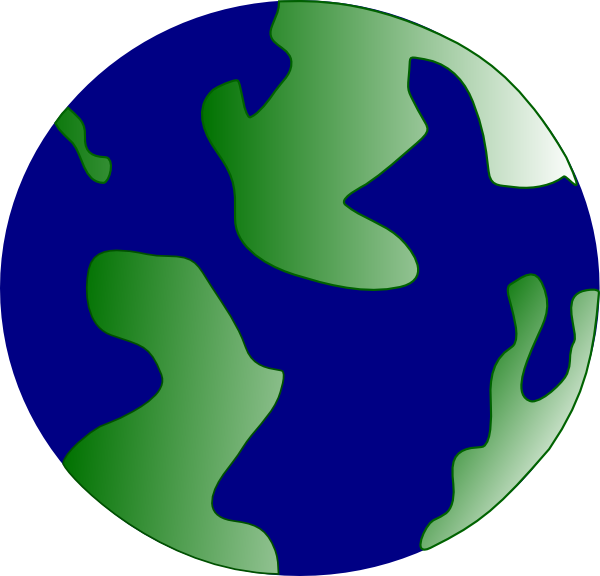 free vector Pseudo Globe clip art