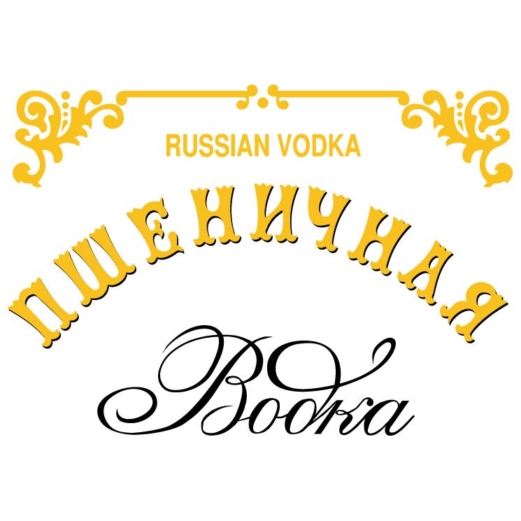 free vector Pshenitchnaya vodka