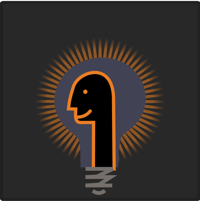 free vector Psy bulb icon
