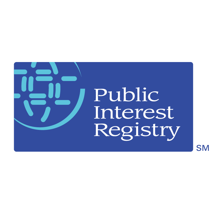 free vector Public interest registry