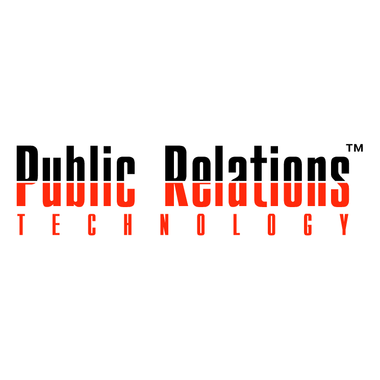 free vector Public relations technology