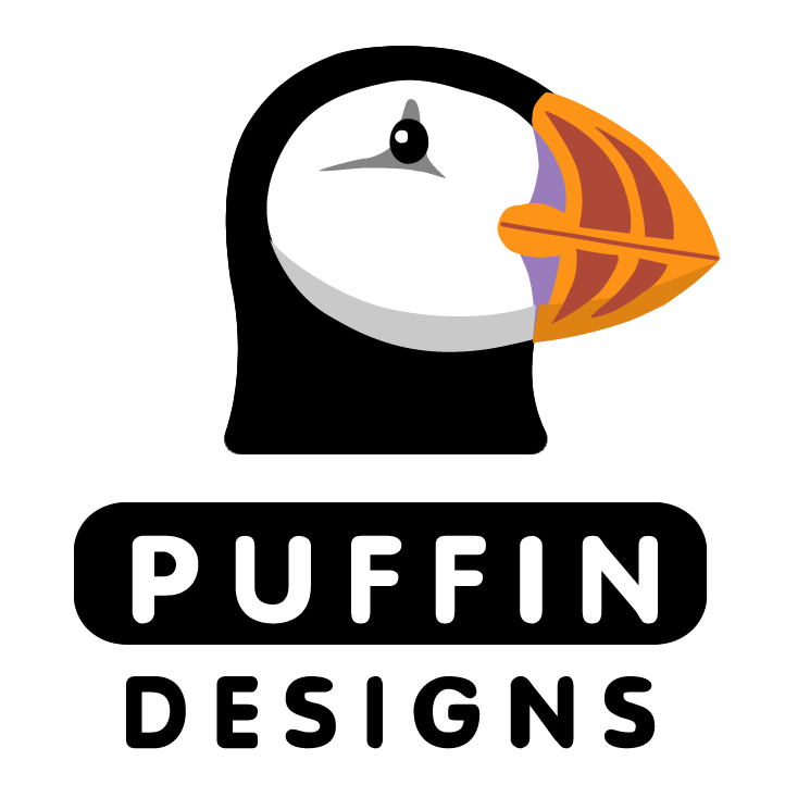 free vector Puffin designs