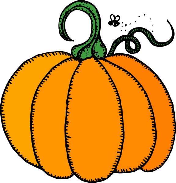 pumpkin clip art free vector 4vector rh 4vector com pumpkin clip art borders pumpkin clip art black and white