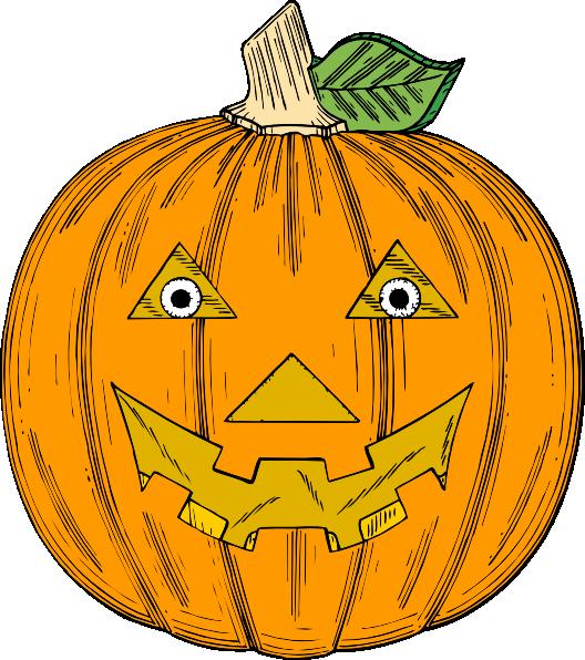 free vector Pumpkin Face clip art