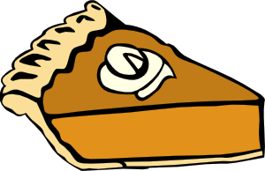 free vector Pumpkin Pie clip art