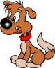 free vector Puppy Cartoon clip art