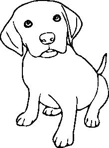 free vector Puppy clip art
