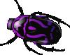 free vector Purple Beetle clip art