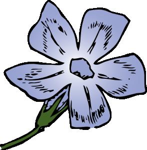Purple Flower Clip Art Free