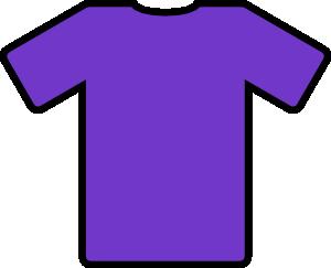 free vector Purple T Shirt clip art