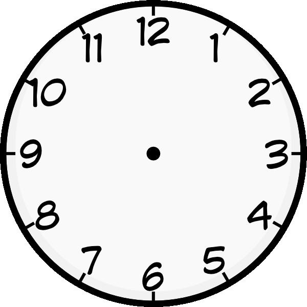 free vector Purzen Clock Face clip art