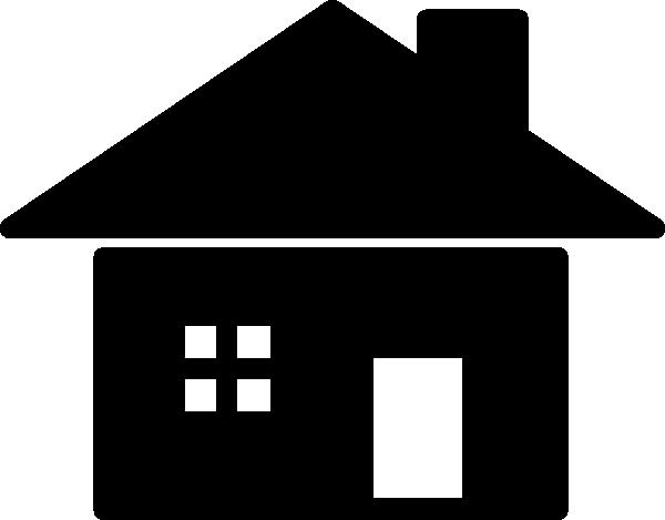 Line Art House Vector : Purzen house icon clip art free vector