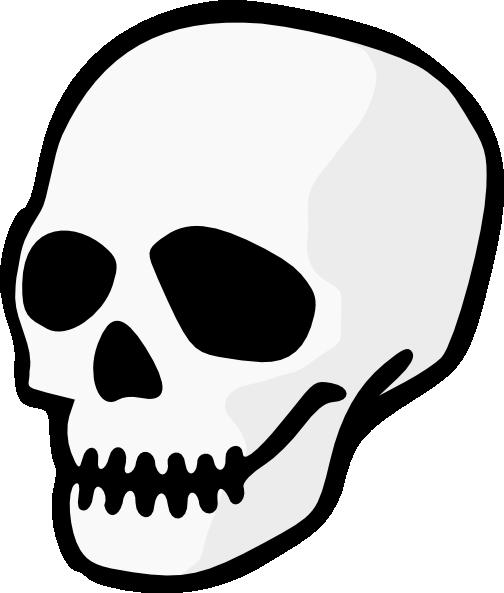 free vector Purzen Skull clip art