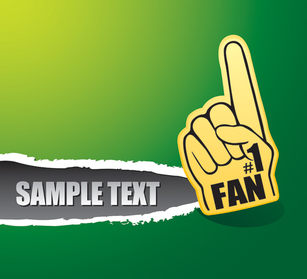 free vector Put your finger vector