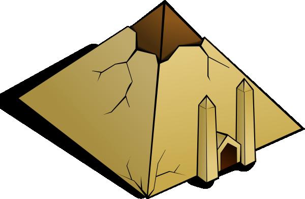 pyramid clip art free vector 4vector rh 4vector com food pyramid clipart pyramid clipart images