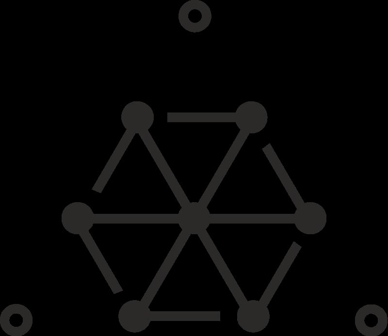 free vector Pythagorean Tetrad