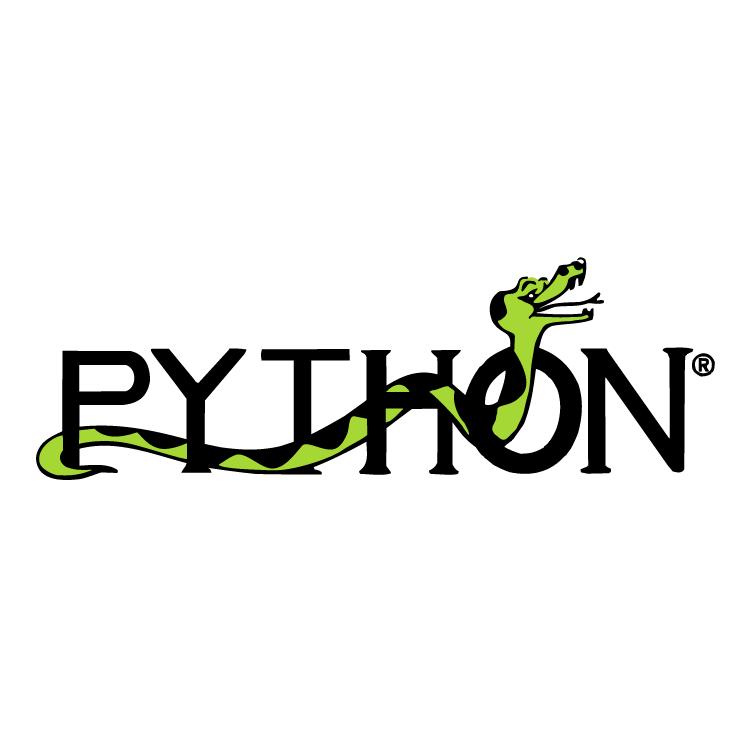 free vector Python 1