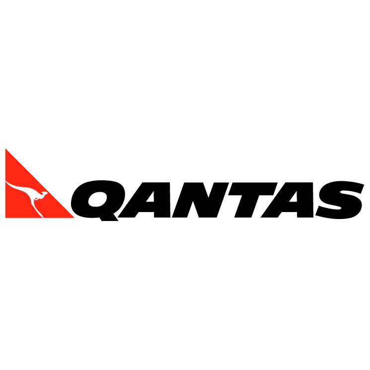 free vector Qantas 1