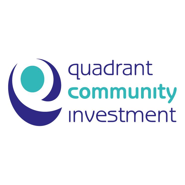 free vector Quadrant community investment 0