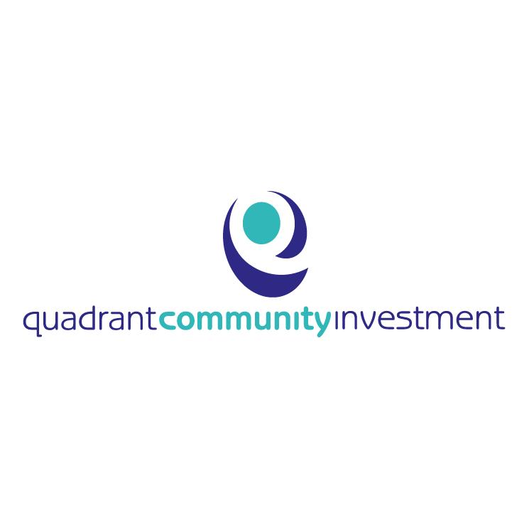 free vector Quadrant community investment 1