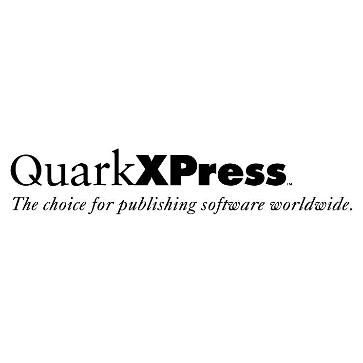 free vector Quarkxpress