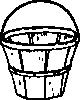 free vector Quart Basket clip art