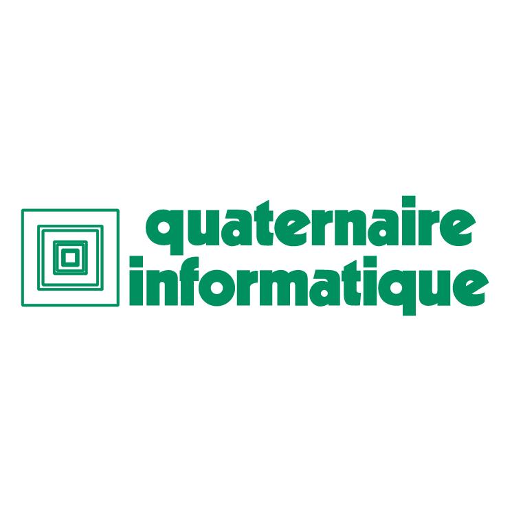 free vector Quaternaire informatique