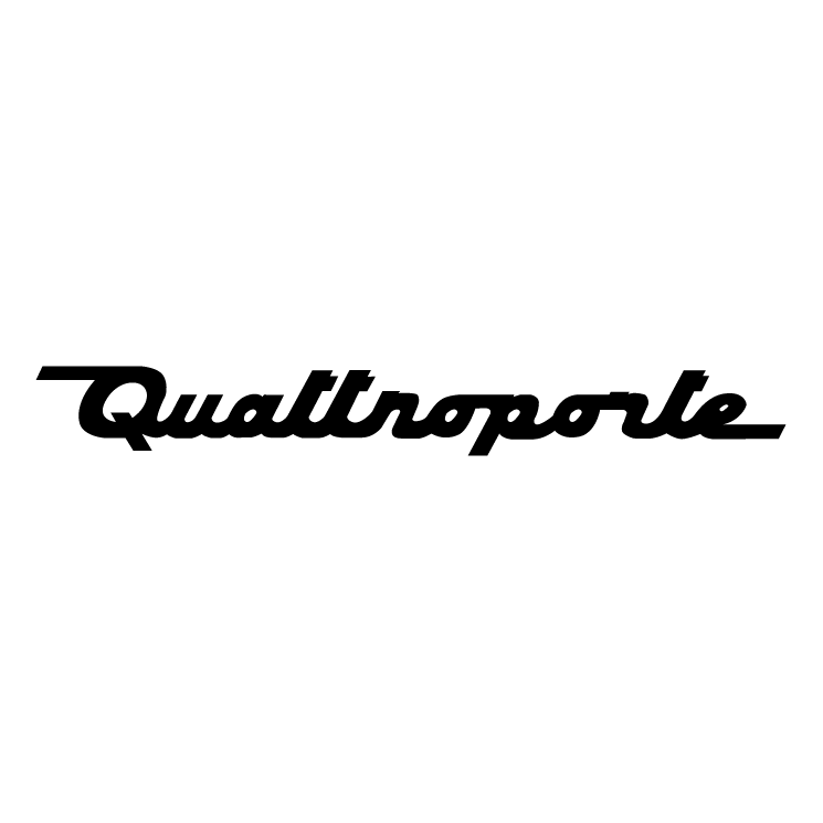 free vector Quattroporte