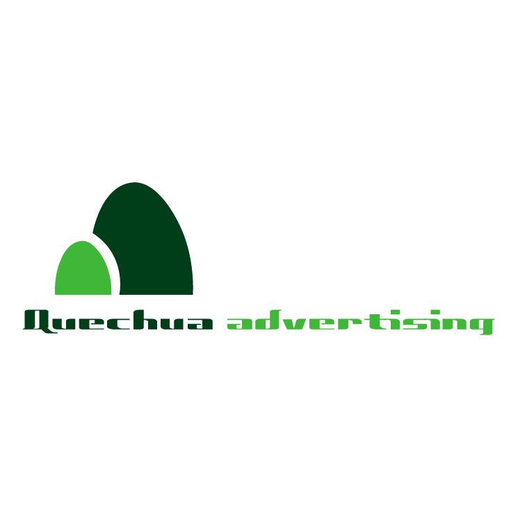 free vector Quechua advertising