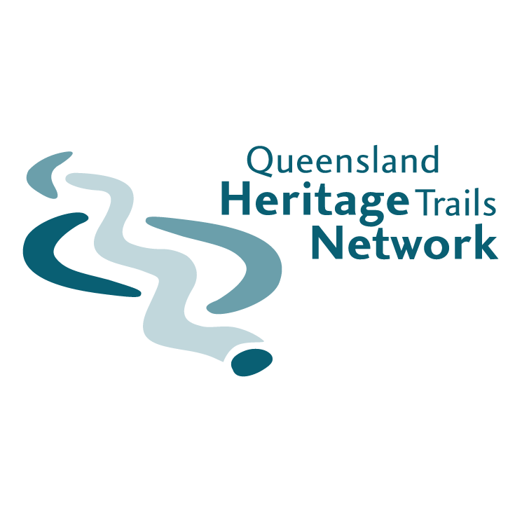 free vector Queensland heritage trails network