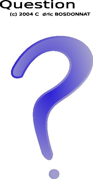 free vector Question clip art