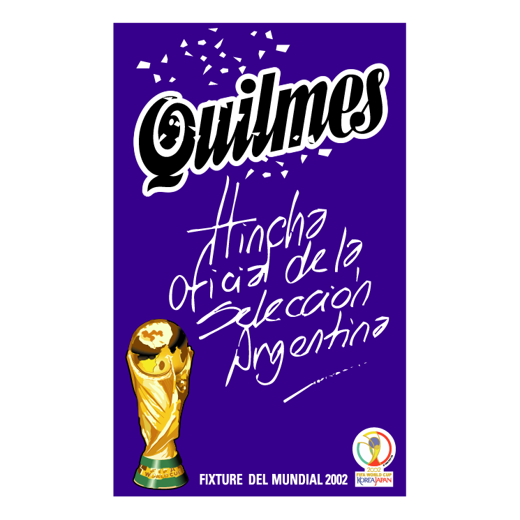 free vector Quilmes fifa 2002