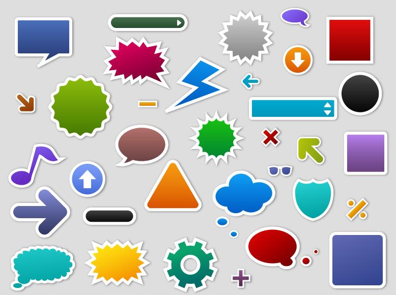 free vector Qvector dialogue bubble sign
