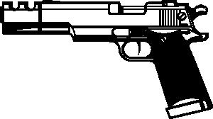 free vector R D Gun clip art