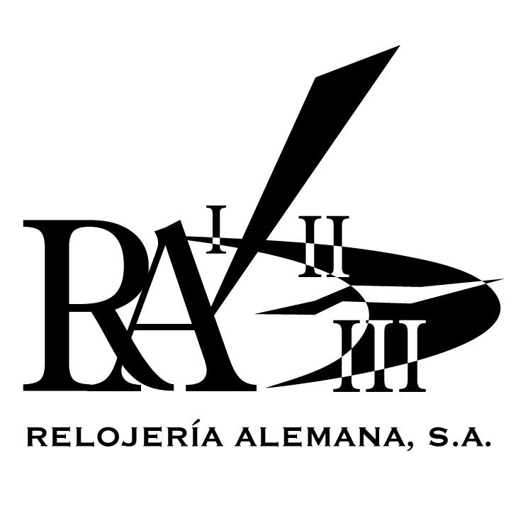 free vector Ra relojerna alemana