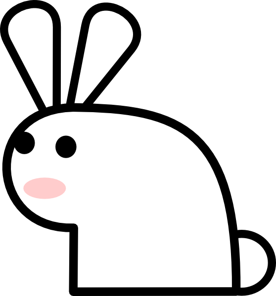 free vector Rabbit clip art