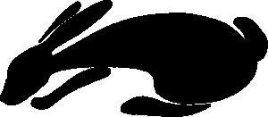 free vector Rabbit Silhouette clip art