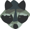 free vector Racoon clip art
